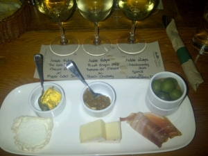 Wine Flight at Salt